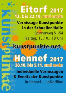 Plakat Kunstpunkte 2017