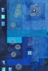 Patchwork-Art-Quilt von Heide Ulbrecht